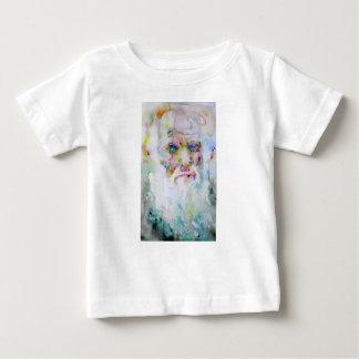charles darwin - watercolor portrait baby T-Shirt