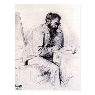 Charles de Toulouse Lautrec by Toulouse-Lautrec Postcard