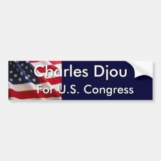 Charles Djou, For U.S. Congress Bumper Sticker