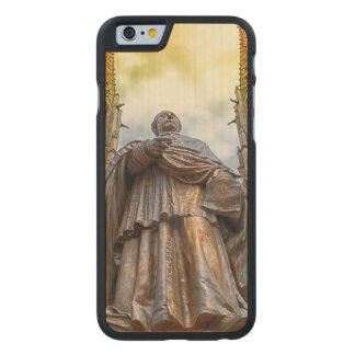 Charles-Emile Freppel statue, Obernai, France Carved® Maple iPhone 6 Slim Case