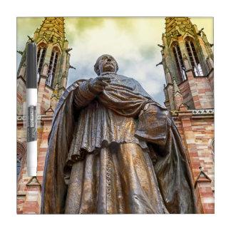 Charles-Emile Freppel statue, Obernai, France Dry Erase Board