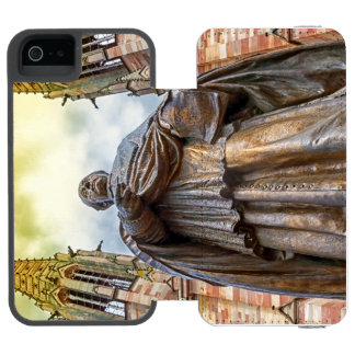 Charles-Emile Freppel statue, Obernai, France Incipio Watson™ iPhone 5 Wallet Case