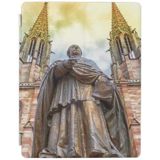 Charles-Emile Freppel statue, Obernai, France iPad Cover