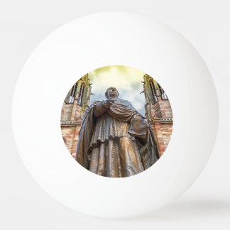 Charles-Emile Freppel statue, Obernai, France Ping Pong Ball