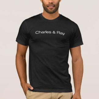 Charles et rayon/noir t-shirt