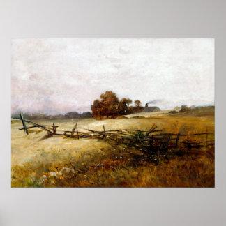 Charles Ethan Porter Autumn Landscape Poster