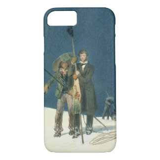 Charles Fellows with William Hawes, Plants a Baton iPhone 7 Case
