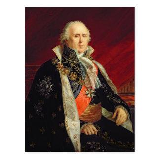 Charles-Francois Lebrun  Duke of Plaisance Postcard