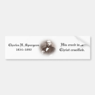 Charles Haddon Spurgeon Bumper Sticker
