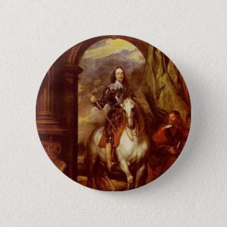 Charles I 2 Inch Round Button