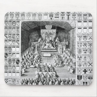 Charles I  in the House of Lords Mouse Pads