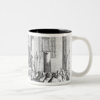 Charles II  Crowned at Scone, 1651 Two-Tone Coffee Mug