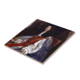 Charles II of Great Britain and Ireland Tile
