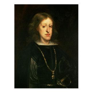 Charles II  of Spain Postcard