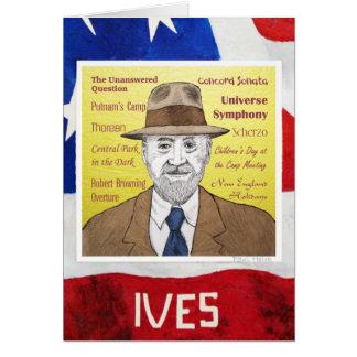 Charles Ives Card