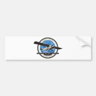 Charles Linberg Historic Flight Bumper Sticker