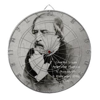 charles Louis Ambroise Thomas 1865 Dartboard