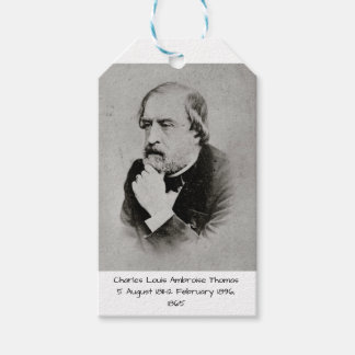 charles Louis Ambroise Thomas 1865 Gift Tags
