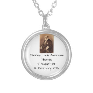 charles Louis Ambroise Thomas Silver Plated Necklace