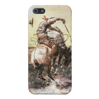 Charles Marion Russell - Slick Rider iPhone 5/5S Case