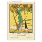 Charles Martin Vintage Art Deco Fashion Card