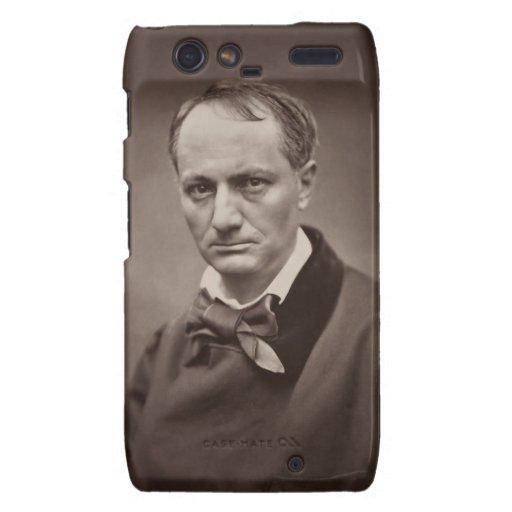 Charles Pierre Baudelaire Portrait Étienne Carjat Motorola Droid RAZR Case