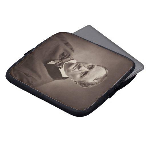 Charles Pierre Baudelaire Portrait Étienne Carjat Laptop Sleeves