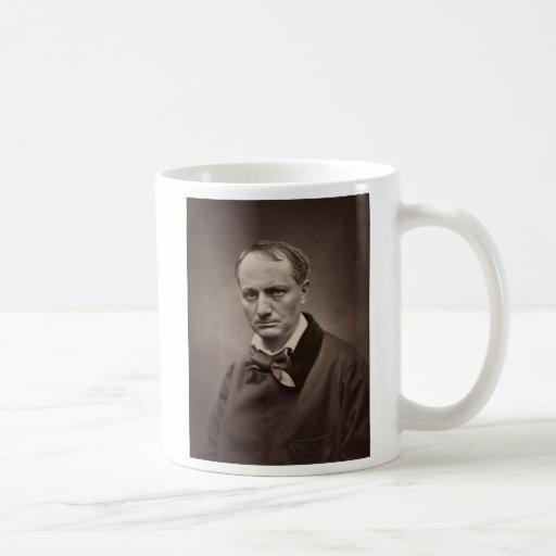Charles Pierre Baudelaire Portrait Étienne Carjat Mugs