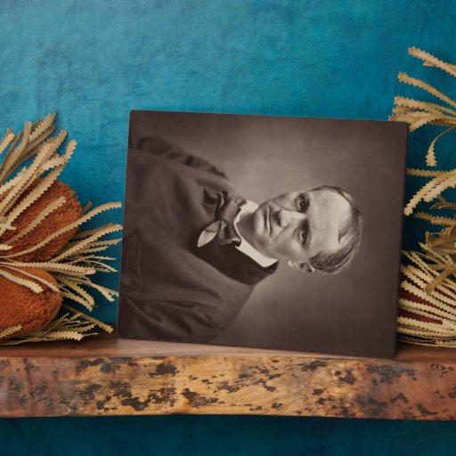 Charles Pierre Baudelaire Portrait Étienne Carjat Display Plaques