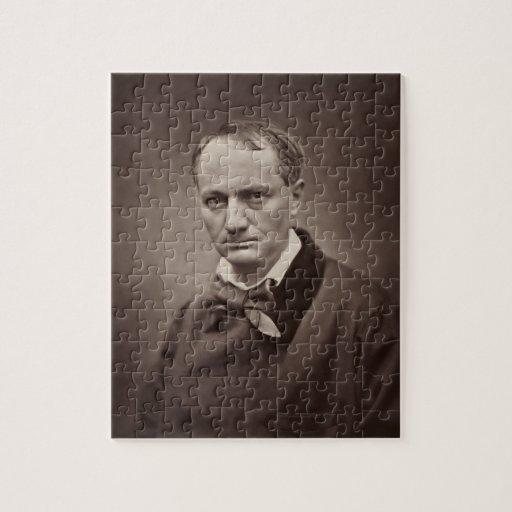 Charles Pierre Baudelaire Portrait Étienne Carjat Puzzles