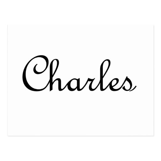 Charles Post Cards