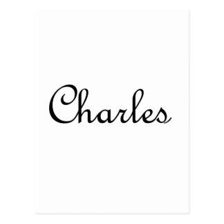 Charles Postcard