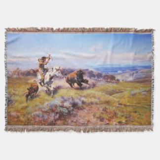 Charles Russell 1 Throw Blanket