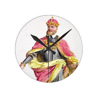 Charles V (1500-58) from 'Receuil des Estampes, re Wallclocks