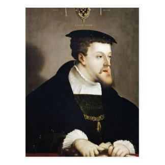 Charles V  Holy Roman Emperor Postcard