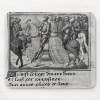 Charles VII  and Joan of Arc at the Siege of Mousepads