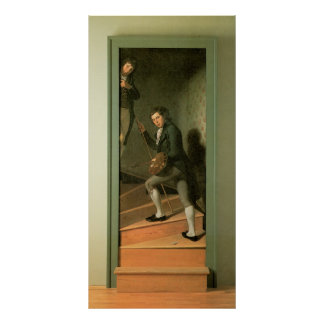 Charles Willson Peale The Staircase Group Poster