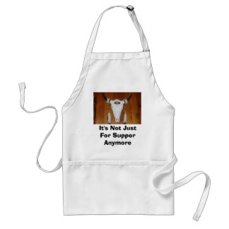 Charles Wilson 005, It's Not Just For Supper An... Standard Apron