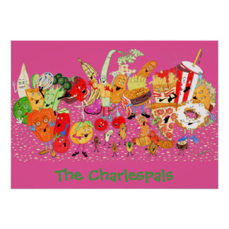Charlespals 28x20 Poster