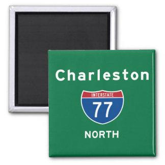 Charleston 77 magnet