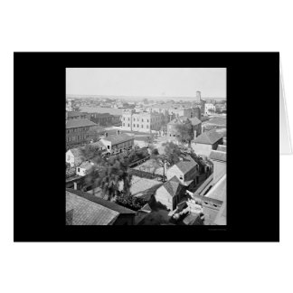 Charleston and The Citadel from Orphanage 1865 Greeting Card
