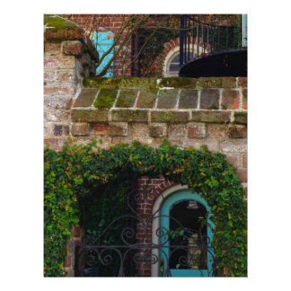 Charleston Architecture - Ivy & Iron Customized Letterhead