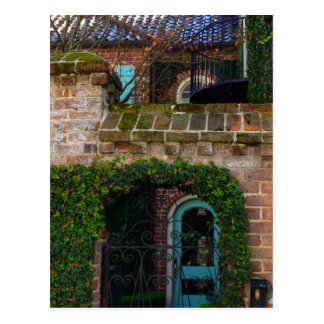 Charleston Architecture - Ivy & Iron Postcard