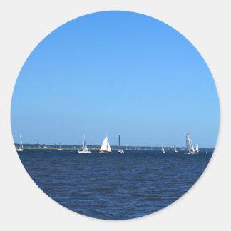 Charleston Battery Classic Round Sticker