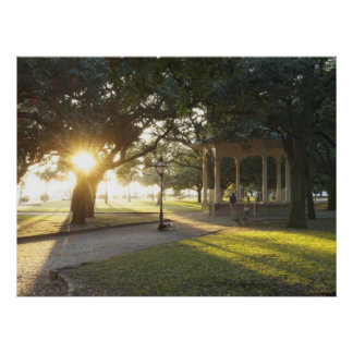Charleston Battery Gazebo Poster