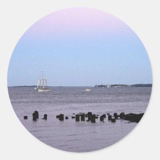 Charleston Bay Classic Round Sticker