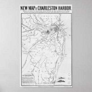 Charleston Harbor Poster
