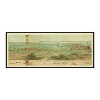 Charleston Harbor South Carolina (1860-1865) Gallery Wrapped Canvas