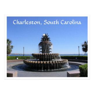 Charleston SC Waterfront Park Fountain Post Card