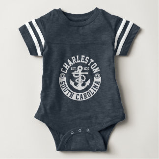 Charleston South Carolina Baby Bodysuit